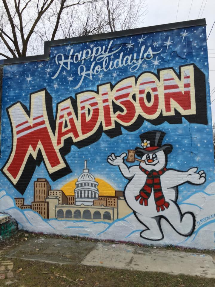 Madison Mural Frosty the Snowman
